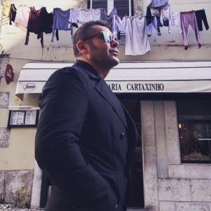Jorge Javier Vázquez a Lisboa  instagram