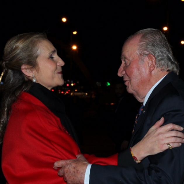 Joan Carles I i infanta Elena   Casa Reial