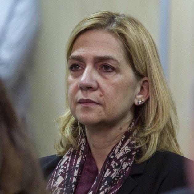 Infanta Cristina trista  GTRES