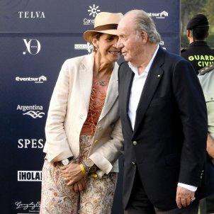 infanta Elena i Joan Carles  GTRES