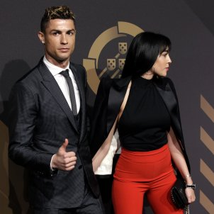 Georgina Rodriguez i Cristiano  GTRES