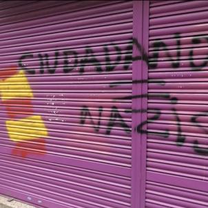 grafit Albert rivera twitter