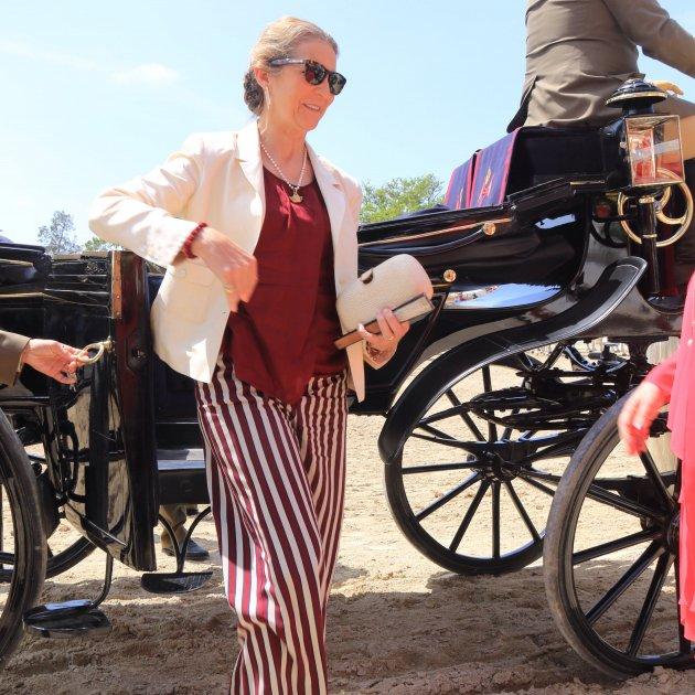 Infanta Elena cotxe  GTRES