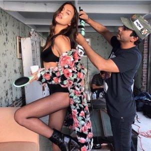 Irina Shayk Canvi Look  Instagram