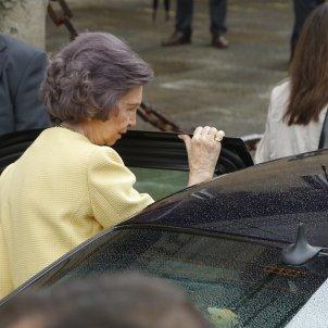 reina Sofia cotxe  GTRES