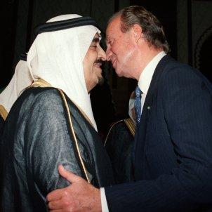 Joan Carles  Fahd Arabia  Saudita 1994 EFE