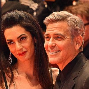George Clooney and Amal Clooney   wikimedia