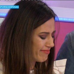 Nuria Marín plora Cazamariposas
