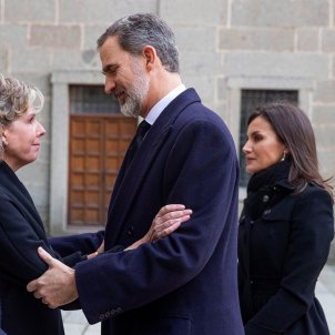 felip leticia funeral GTRES
