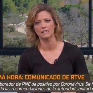 María Casado TVE coronavirus