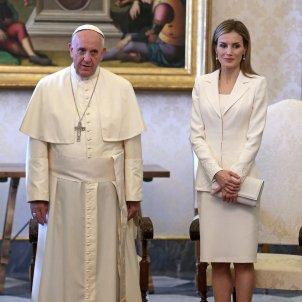 leticia papa francesc GTRES