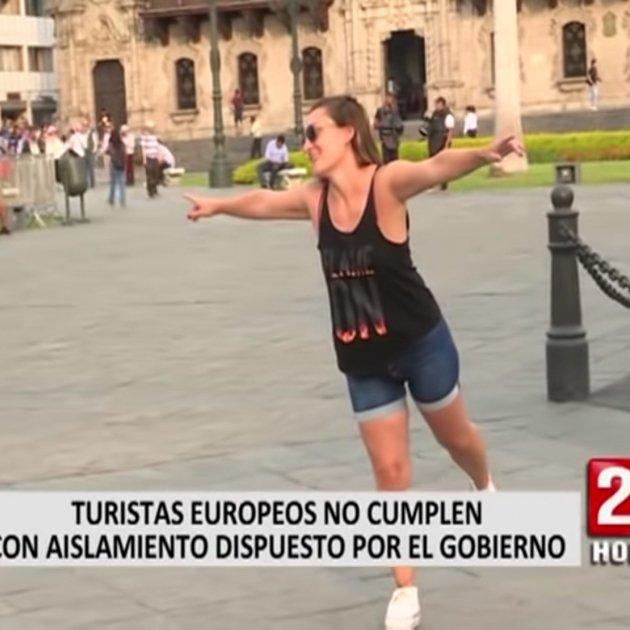 turista espanyola Perú 24 horas