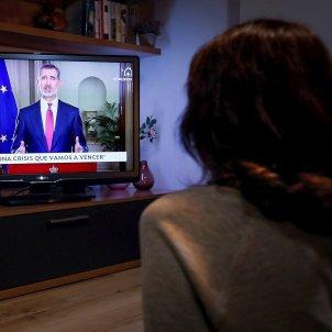 discurs Felip tele EFE