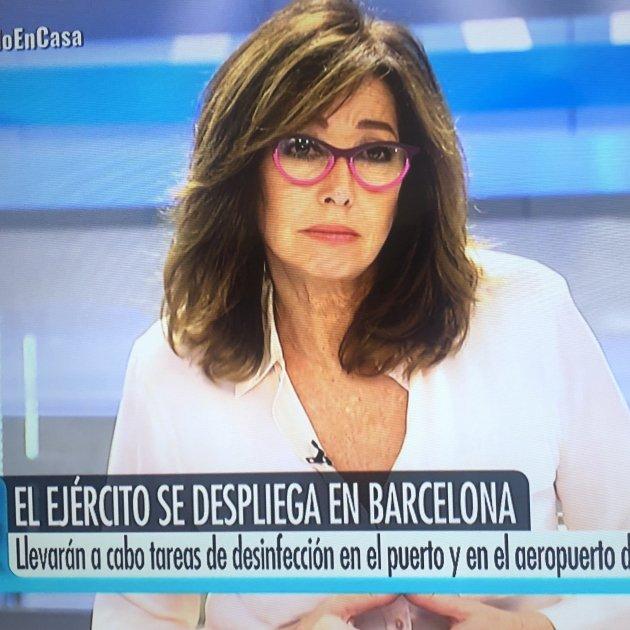 Ana Rosa exèrcit BCN Telecinco