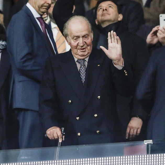 Joan Carles saluda GTRES