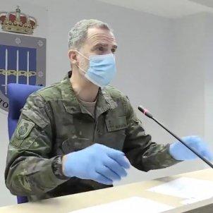 Felipe militar mascareta @casareal