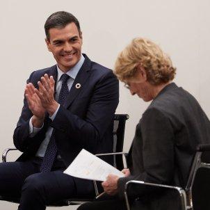 Pedro Sánchez Mercedes Milà GTRES