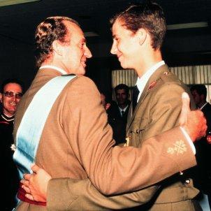 Juan Carlos I Felipe VI Europa Press