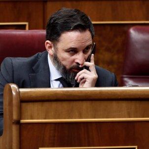 Santiago Abascal telèfon mòbil GTRES