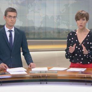 Raquel Sans Carles Prats TN març 2020 TV3