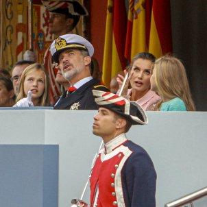 Familia reial espanyola desfilada Europa Press