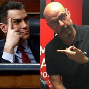 Pedro Sánchez Jordi Basté EN BLAU