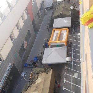 Militars a Gràcia carrer Desamparats @embranzides