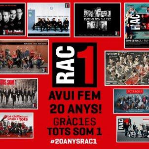 RAC 1 20é aniversari