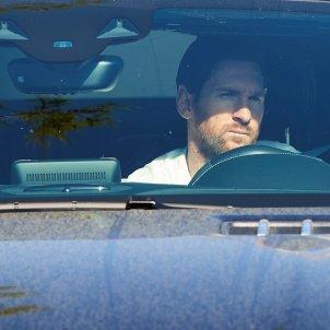 Messi cotxe EFE