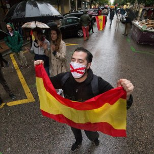 Protesta VOX barrio Salamanca EP