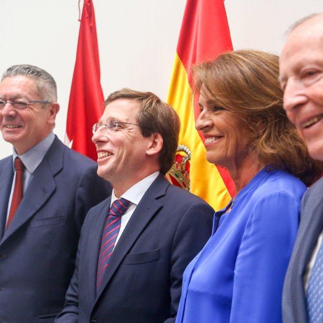 Ruiz Gallardón Almeida Botella Álvarez del Manzano EP