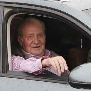 rei Joan Carles cotxe GTRES
