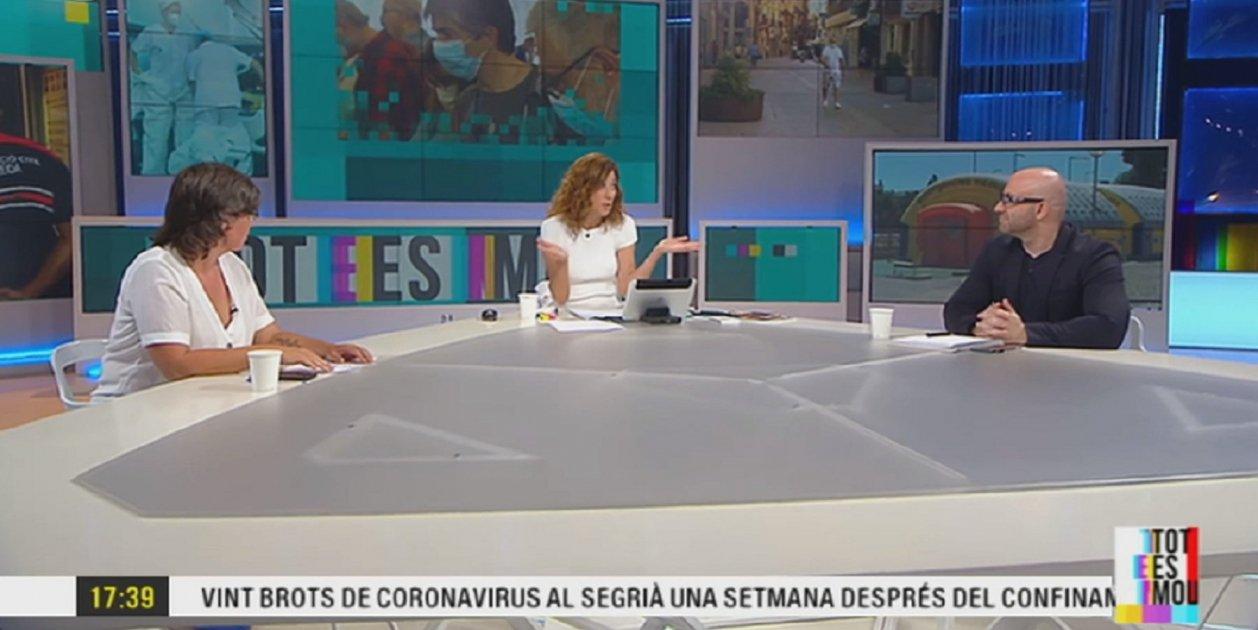 Captura pantalla Tot es mou TV3
