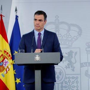 Pedro Sánchez roda de premsa EFE