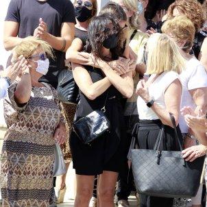 Paz Padilla i Anna Ferrer funeral marit EP