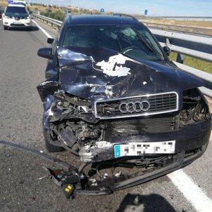 Accident Javier Gállego