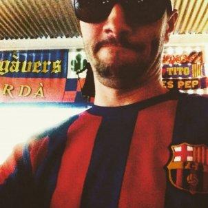 Jair Domínguez amb samarreta Barça @jairdominguez