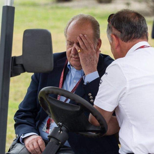 Joan Carles I carret de golf
