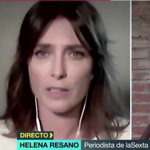 Helena Resano preocupada La Sexta