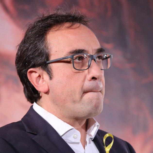 Josep Rull emocionat ACN