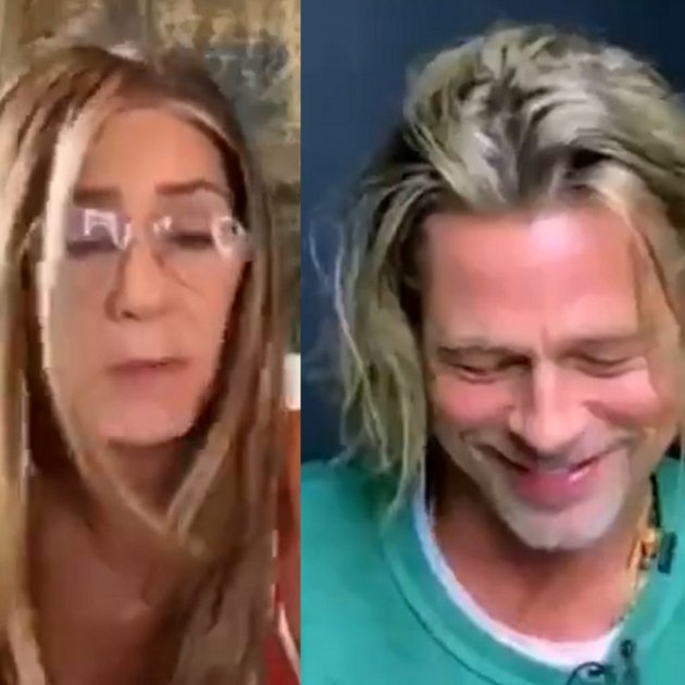 Jeniffer Aniston Brad Pitt Twitter