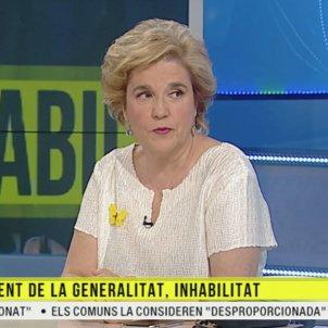 Pilar Rahola sobre inhabilitació Torra TV3