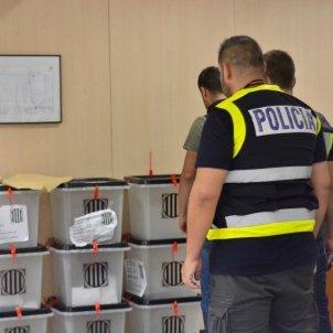 policia urnes EP