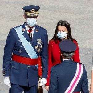 desfilada militar hispanitat familia reial mascareta GTRES