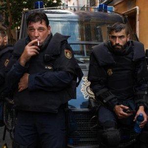 Antidisturbios serie Movistar+