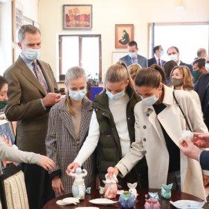 felip leticia i nenes visita asturies