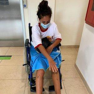 Anabel Pantoja cadira rodes instagram