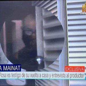 Josep Maria Mainat torna a casa seva primeres imatges T5
