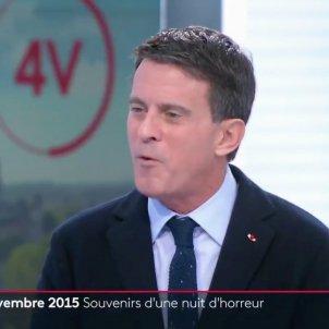 Manuel Valls a la tele francesa France 2 TV