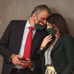 Macarena Olona i Javier Ortega Smith xiuxiueig VOX EP